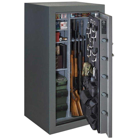 Stack-on TD-40-GP-C-S 36-40 Gun Safe with Back-lit Combination Lock, Gray Pebble-Gun Safe & Vault Store