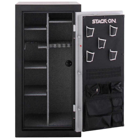 Stack-on TD-40-SB-B-S 36-40 Gun Safe with Biometric Lock, Gray Pebble-Gun Safe & Vault Store