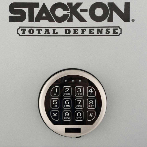 Stack-on TD-40-SB-C-S 36-40 Gun Safe with Combination Lock, Matte Black/Silver-Gun Safe & Vault Store