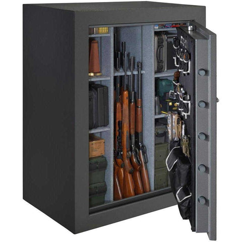 Stack-on TD-69-GP-E-S 51-69 Gun Safe with Electronic Lock, Gray Pebble-Gun Safe & Vault Store