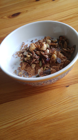 Coco, Bee & Nut granola makes a healthy, delicious breakfast bowl