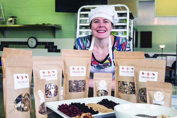 About Us: Coco, Bee & Nut offers gluten-free, GMO-free granola