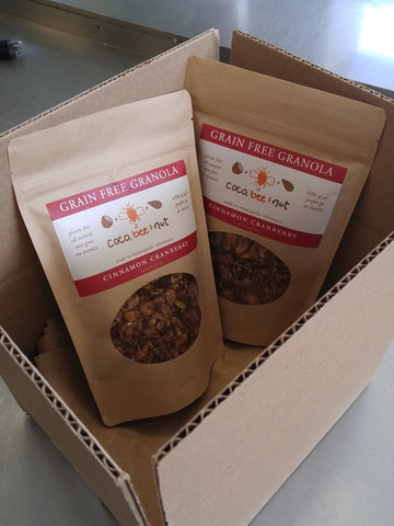 Coco, Bee & Nut granola makes for a great gift any time of year