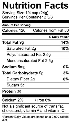 CR2oz nutritional information