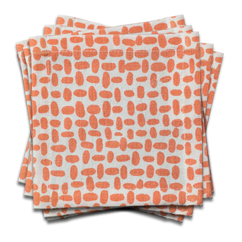 Pebble Cocktail Napkin | s/6 | Blush