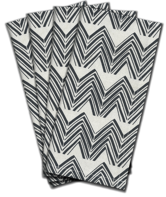Twin Peaks Dinner Napkin s/4 - Midnight Blue