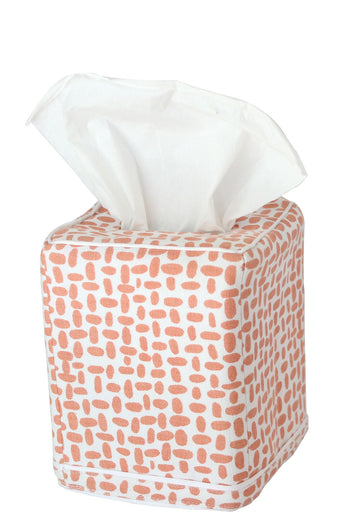 Pebble Tissue Box Cover | Blush