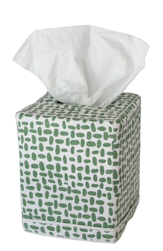 Pebble Tissue Box Cover - Sage