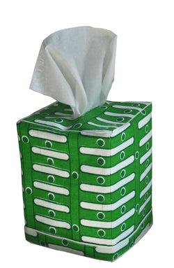 Slim Tissue Box Cover | Grass Green