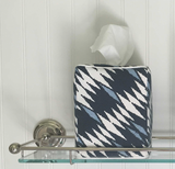 Malay Tissue Box Cover - Blue