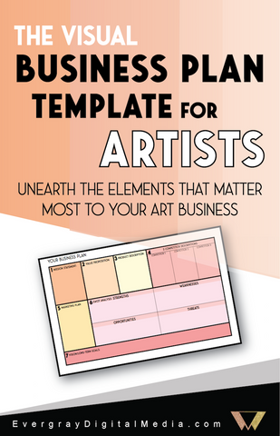 The Visual Business Plan Template for Artists – Evergray