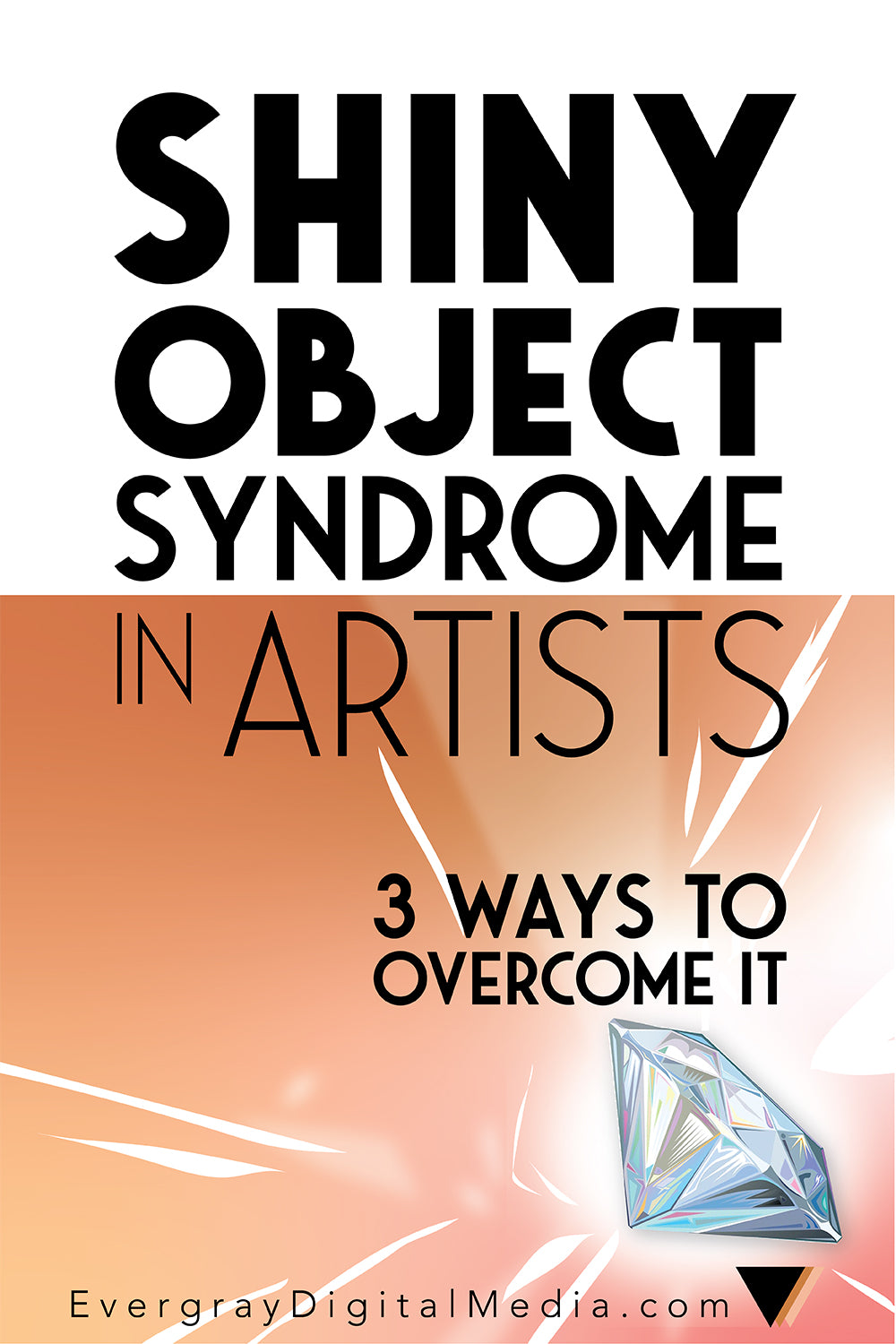 Shiny Object Syndrome in Artists is insanely common in creative entrepreneurs, likely because of how easy it is to envision the end result of a project. Learn how to overcome Shiny object Syndrome that causes scattered, unfinished projects in 3 steps.
