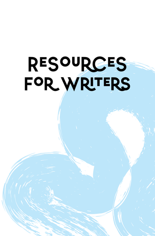 Resources for Writers - The Poetry Salon