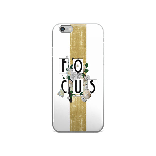 iPhone 5/5s/Se, 6/6s, 6/6s Plus Case - Focus typography