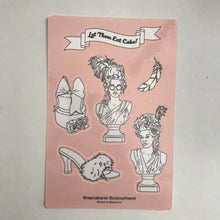 MARIE ANTOINETTE STICKER SHEET