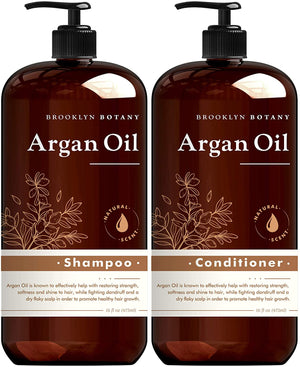 Brooklyn Botany Argan Oil Shampoo and Conditioner
