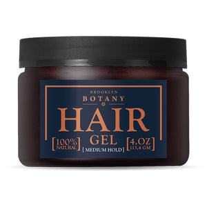 Natural Hair Styling Gel for Men - 4 oz