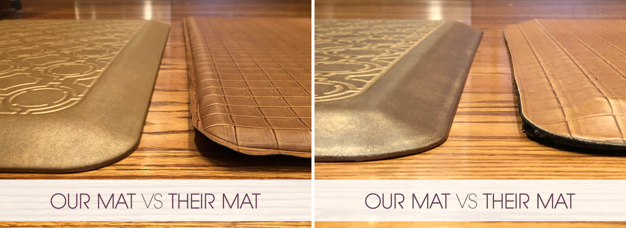 Our Mat vs Their Mat