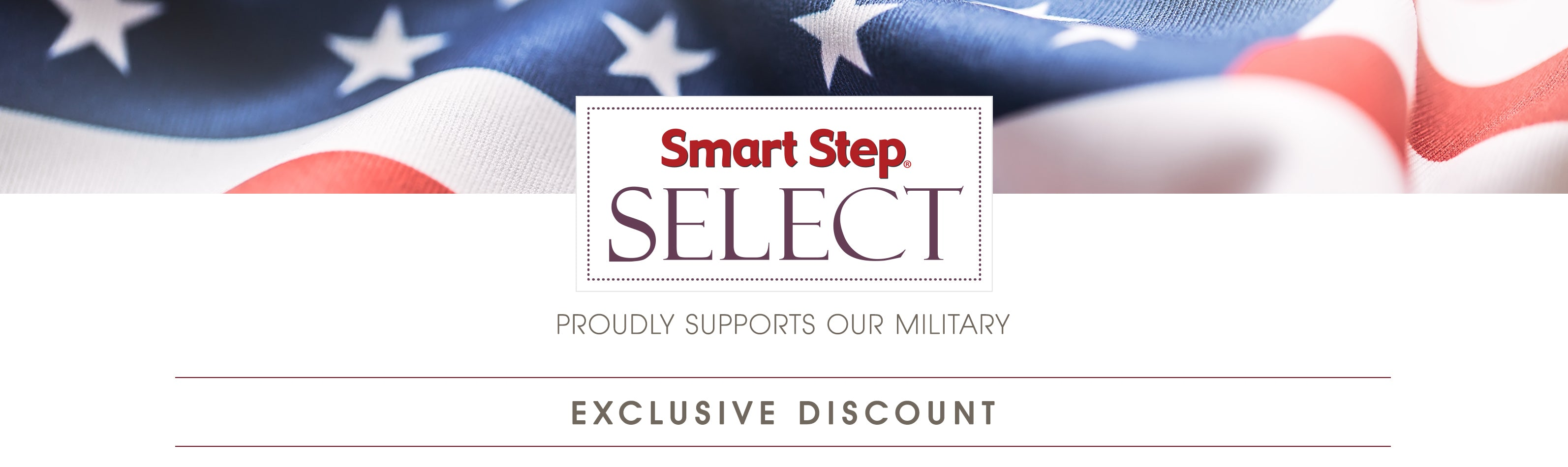 Smart Step Select Military Discount