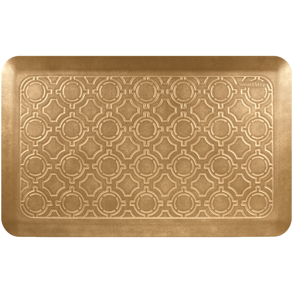 "Moroccan Champagne 32"" x 20"" Comfort Mat"