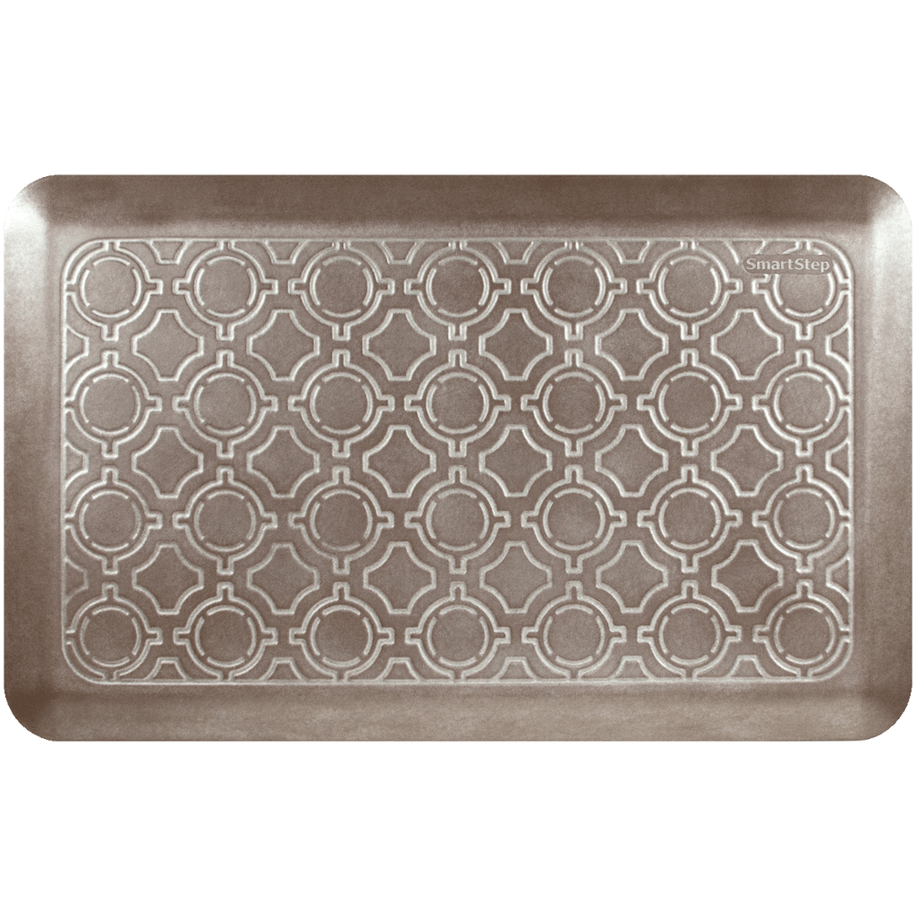 "Moroccan Iced Toffee 32"" x 20"" Anti-Fatigue Mat"
