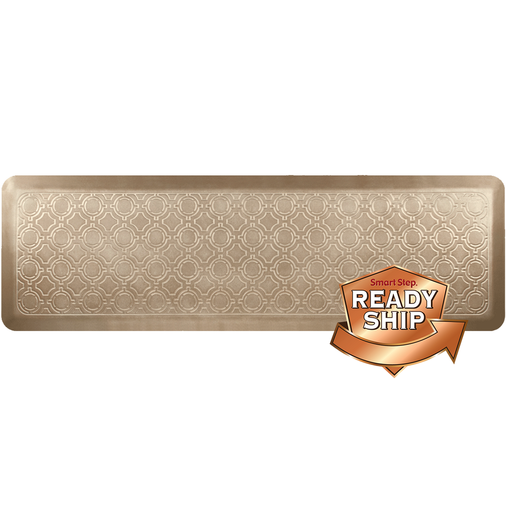 "Moroccan Salted Caramel 66"" x 20"" Anti-Fatigue Mat"