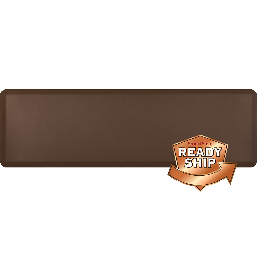 "Suede Cocoa 66"" x 20"" Anti-Fatigue Mat"