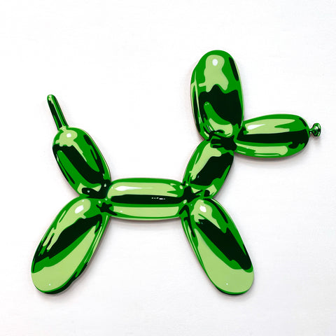 Green Balloon Dog