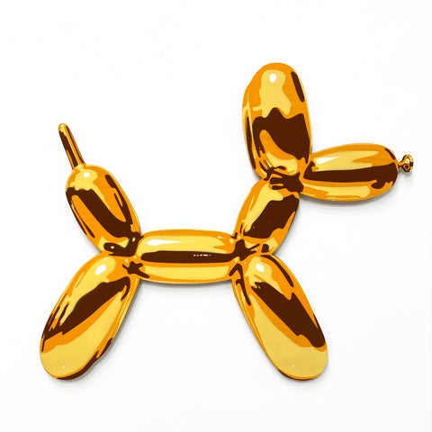 Yellow Balloon Dog