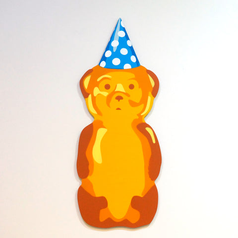 Blue Birthday Bear