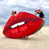 Lips Sculpture