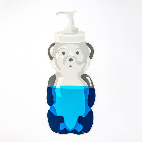 Cut Soap Bear Print