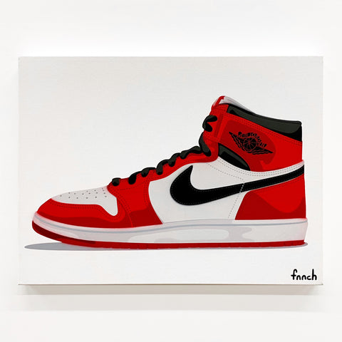Jordan 1 — Red-White-Black