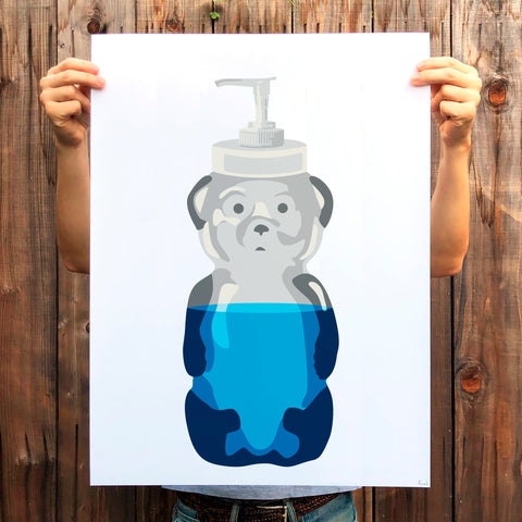 Soap Bear Print (AP)