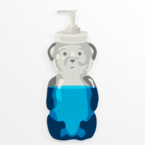 Soap Bear Painting