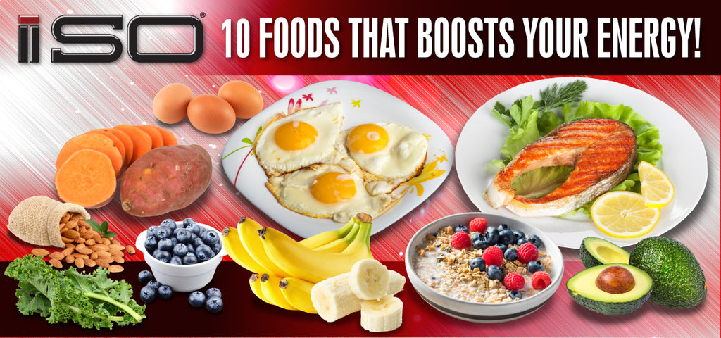 10 Foods That Will Boost Your Energy