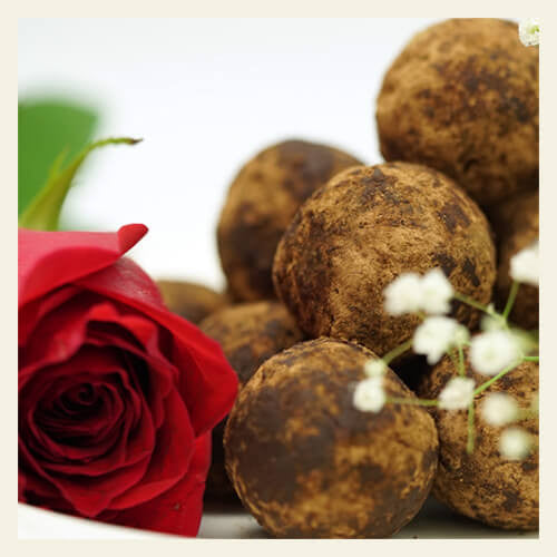 Low Carb Chocolate Rice Balls