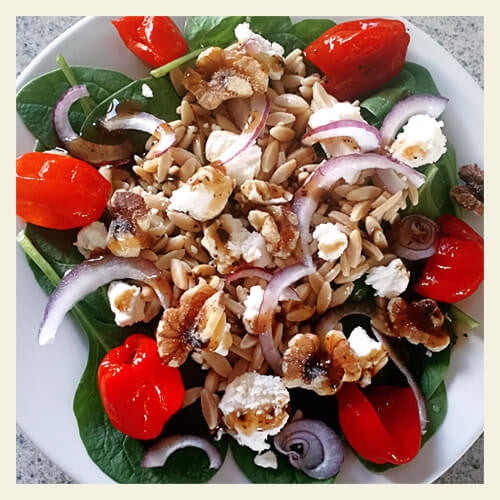 SPINACH AND ISORICE SALAD