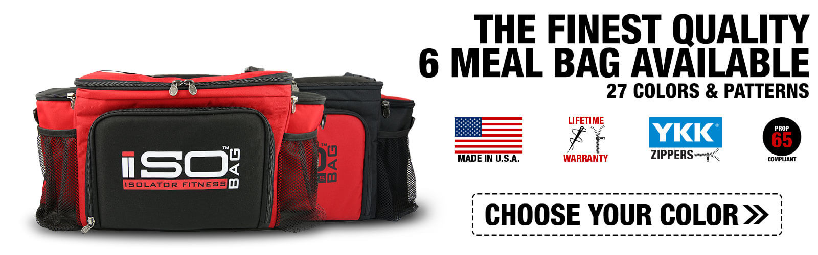 6 meal isobag