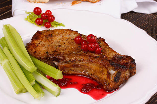 Our Favorite Pork Recipe: Red Hot Currant Glazed Pork Chops