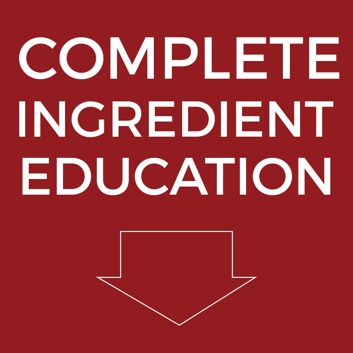 Complete Ingredient Education