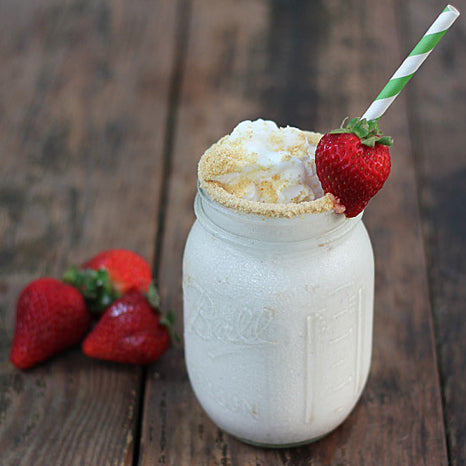Strawberry Cheesecake Protein Shake