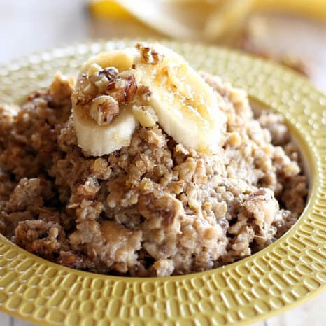 Banana Bread Quinoa