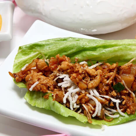 Our Favorite Paleo Recipe: Thai Chicken Lettuce Wraps