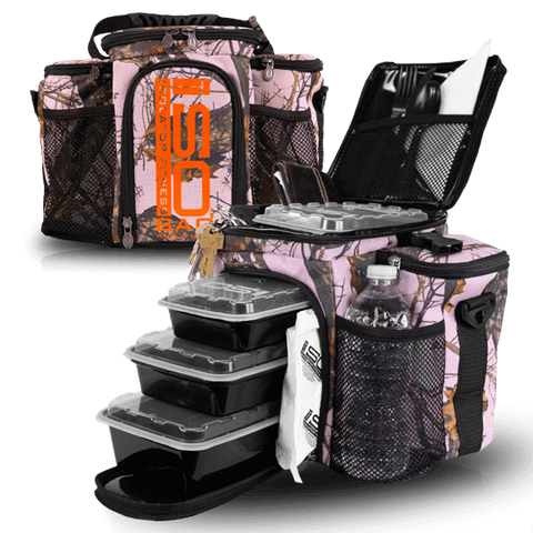 Pink Mossy Oak 3 Meal ISOBAG