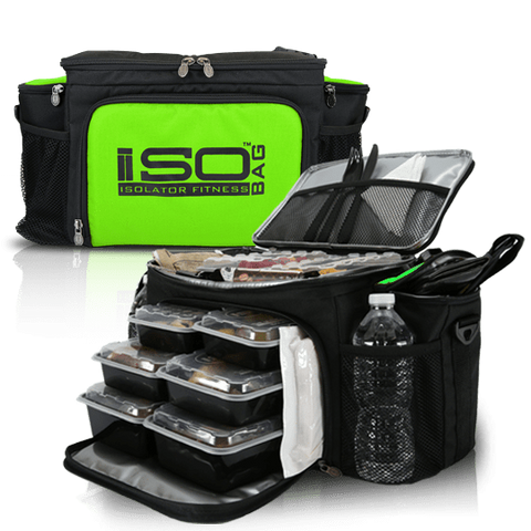 Neon Green 6 Meal ISOBAG