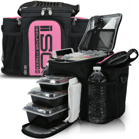 Pink 3 Meal ISOBAG