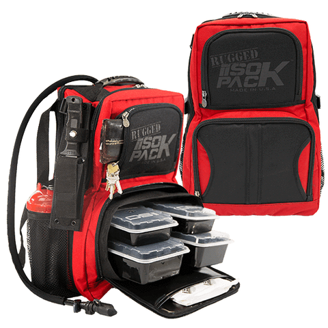 Red Reverse RUGGED ISOPACK
