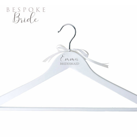 Personalised Dress Hanger