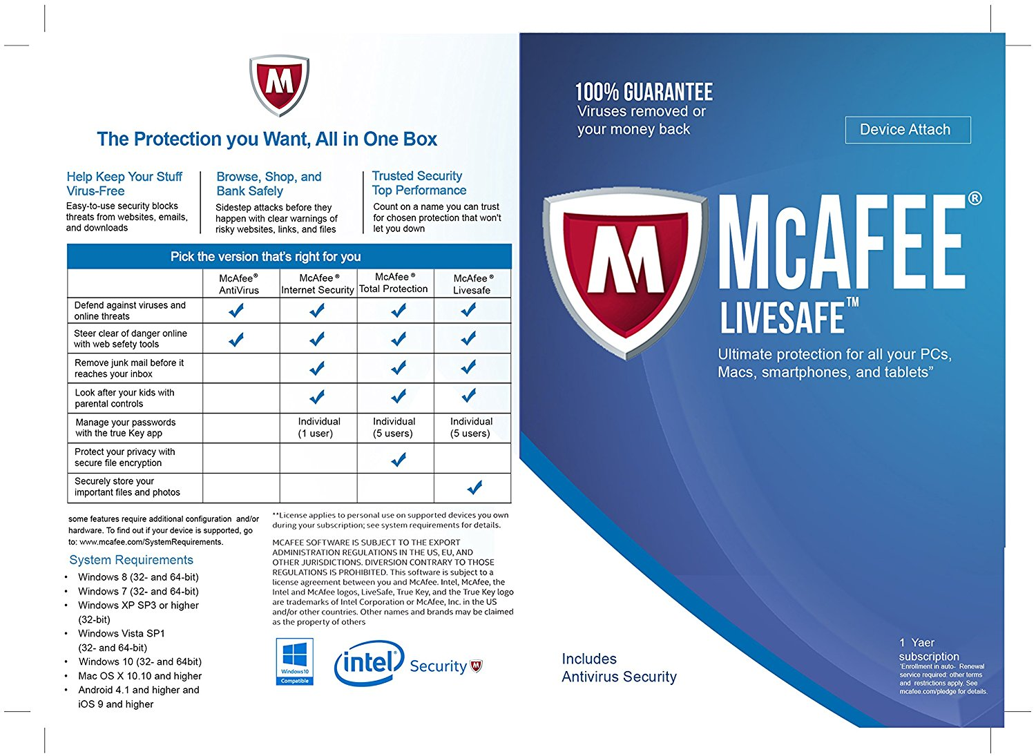 HOW TO GET A CHEAP RENEWAL FOR YOUR MCAFEE LIVESAFE, TOTAL PROTECTION, INTERNET SECURITY OR ANTIVIRUS- UNLIMITED DEVICES (WINDOWS/ANDROID/MAC)